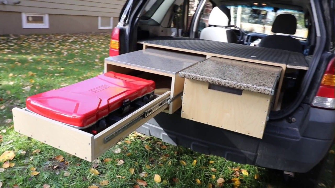 Part 2 How To Convert Suv To A Camper Youtube Suv Camper