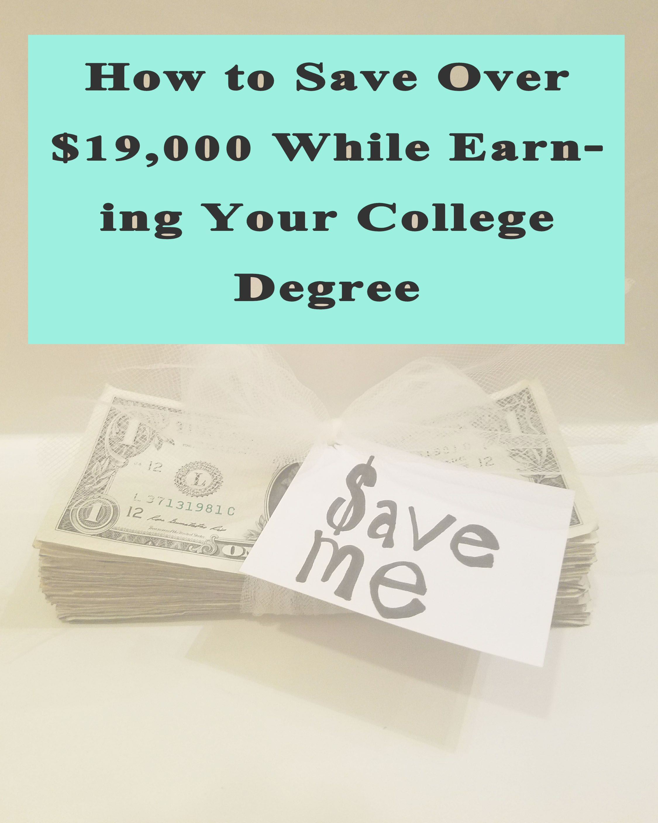 Hands down the best post I've read on saving money on an education.