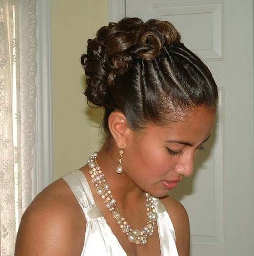 50 Wedding Hairstyles For Nigerian Brides And Black: Elegant Wedding Hairstyles For Black Women