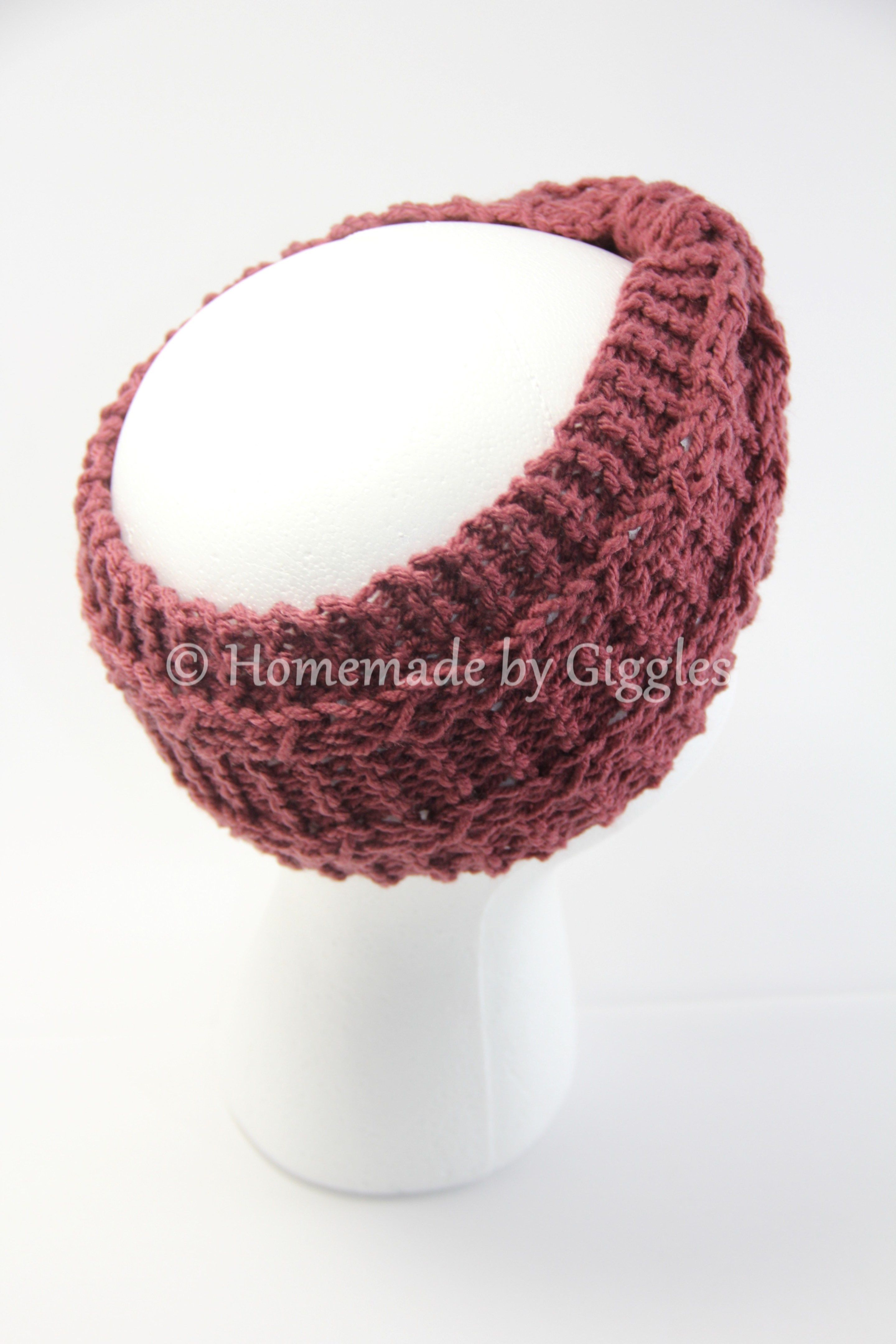 Winter Bowtie Headband – free knit pattern - Homemade by Giggles ...