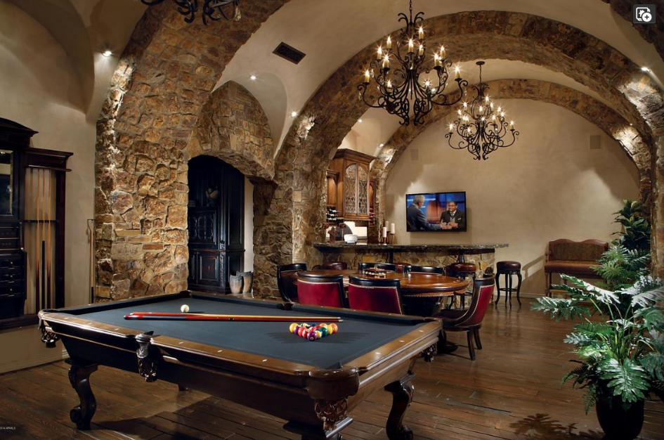 Barrel vaulted game room with texas hold em poker table bar pool barrel vaulted game room with texas hold em poker table bar pool watchthetrailerfo