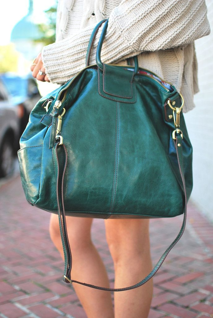 c8fa1630a71f Hobo s Sheila bag in hunter. Photo from the Proper Hunt blog ...