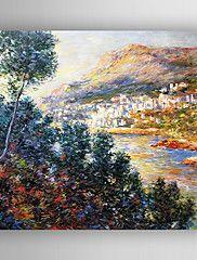 peinture à l'huile impression paysage peint à l... – CAD $ 102.85