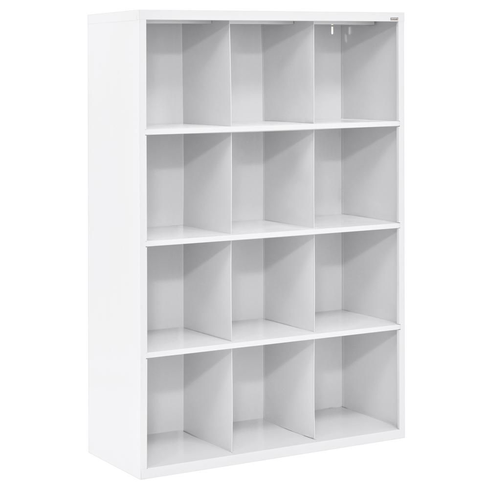 Closetmaid 36 In W X 36 In H White Stackable 9 Cube Organizer 55904 The Home Depot In 2020 Cubby Organizer Cube Organizer Cubby Storage