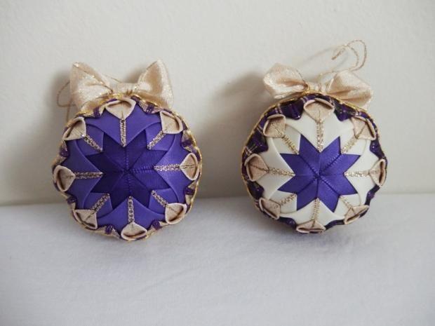 naše fialkovo-zlaté Vianoce 2