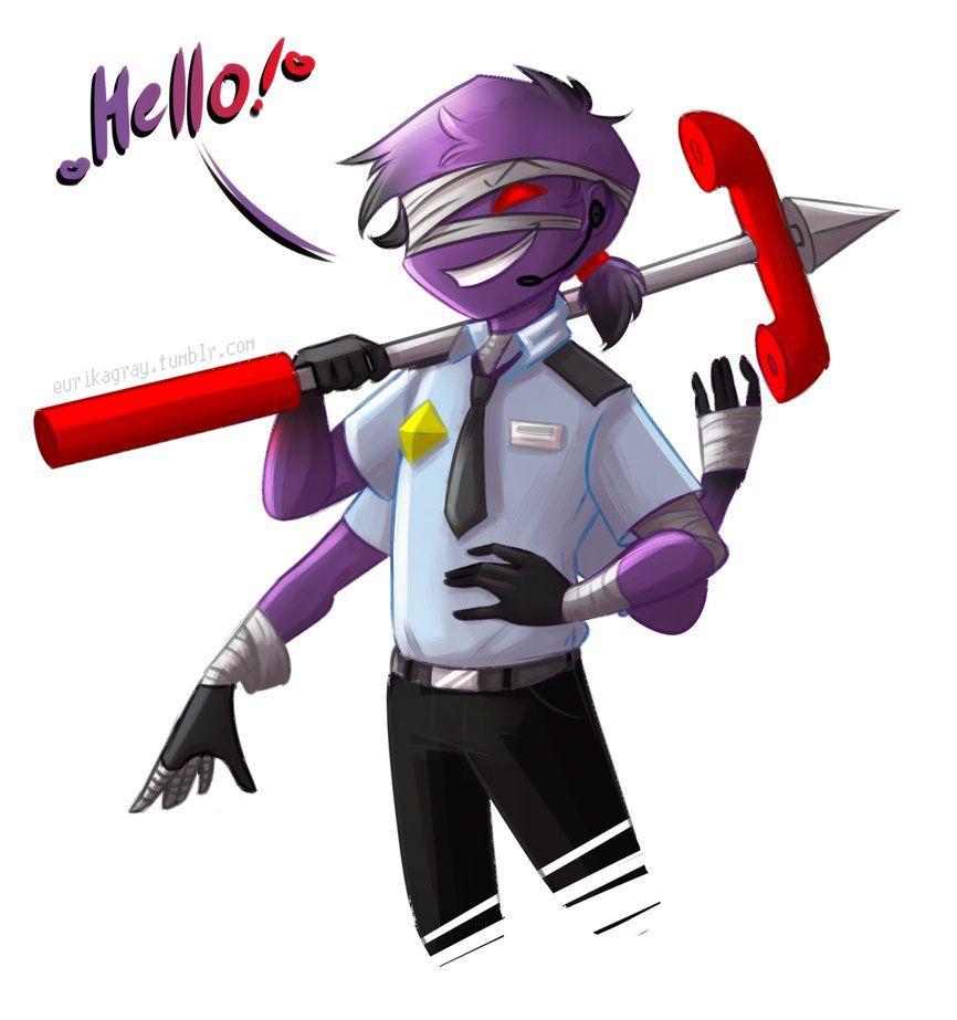 Phone guy x purple guy fanfic lemon - Phone Guy And Purple Guy Fusion By Eurikagray