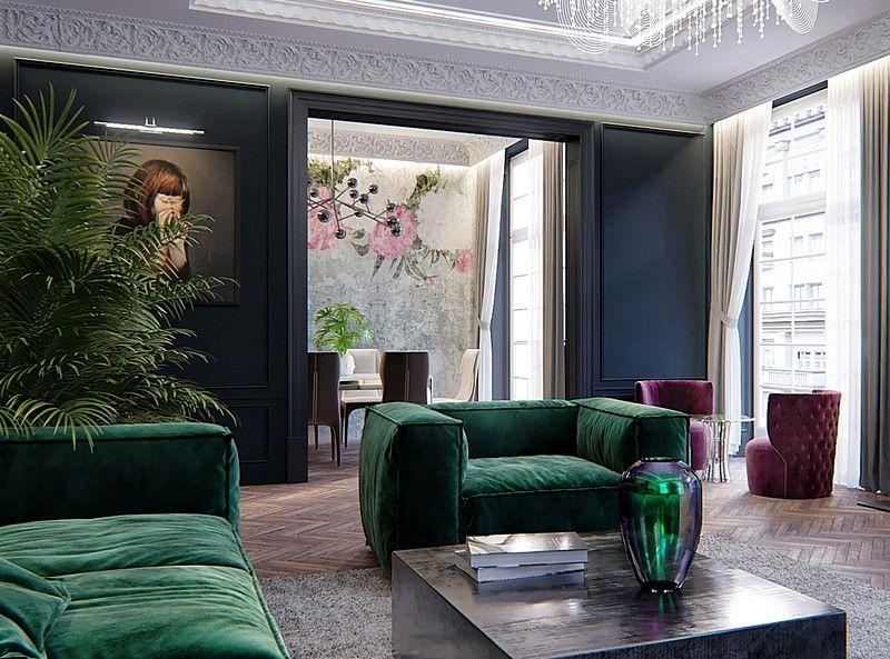Maison Noire – Duplex Apartment for a French Family / Rosko Design