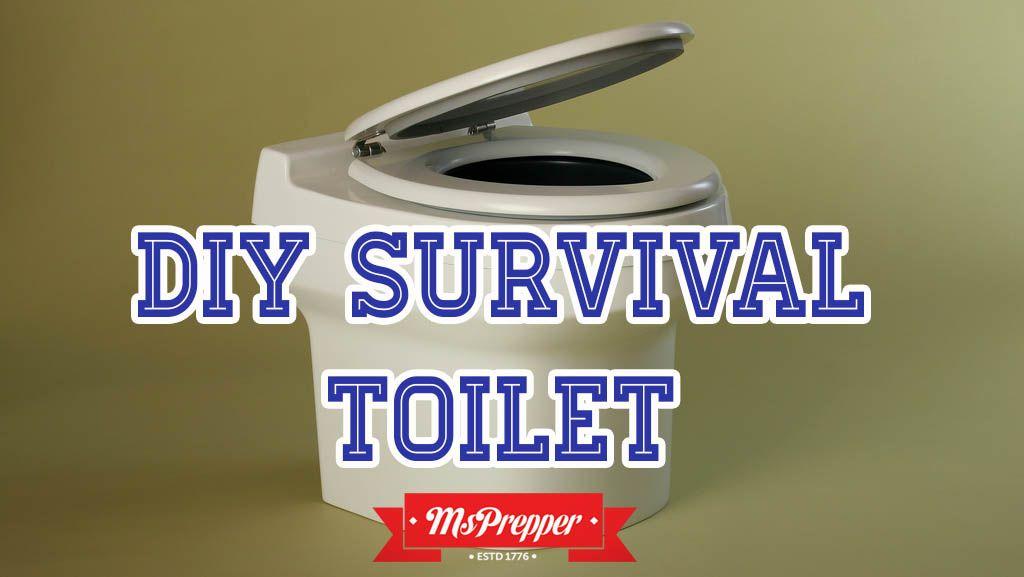 DIY Survival Toilet Emergency preparedness plan, Toilet