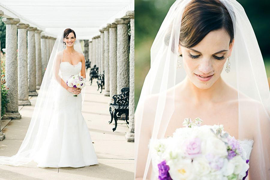 Lovely bridal makeup.