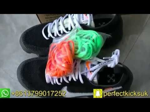 on sale b8c80 e45ff OFF-WHITE X NIKE AIR VAPORMAX HD UNBOXING REVIEW From perfectkicks.uk