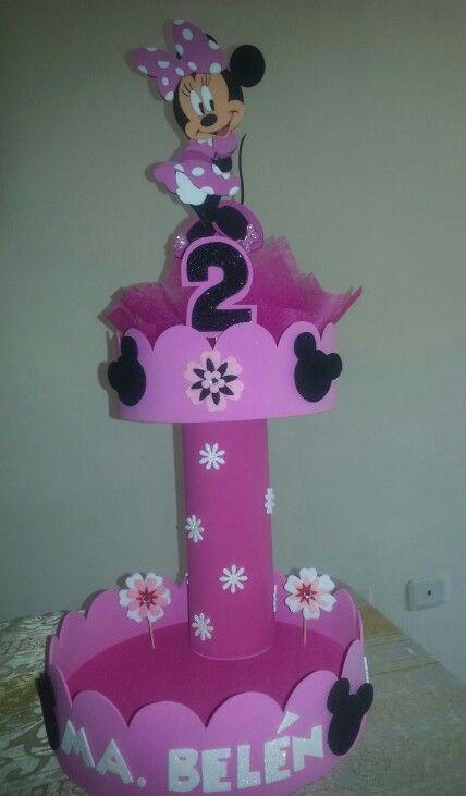 682c3e6b2 Caramelera Minnie   Proyectos que debo intentar   Decoracion fiesta ...