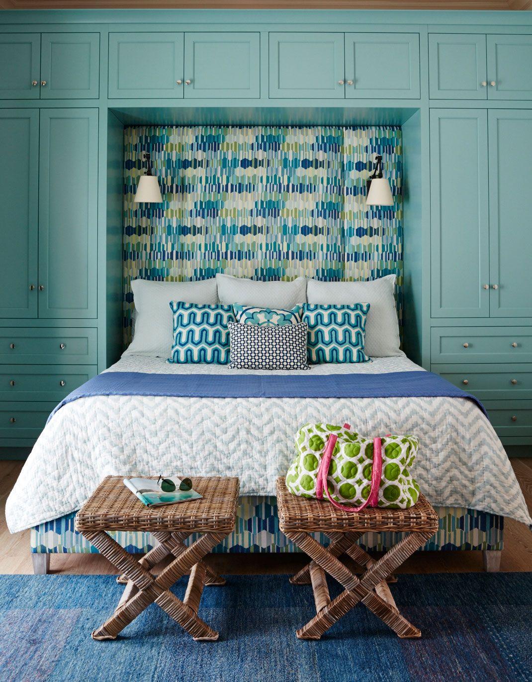 Brilliant BuiltIns Bedroom decor, Interior design