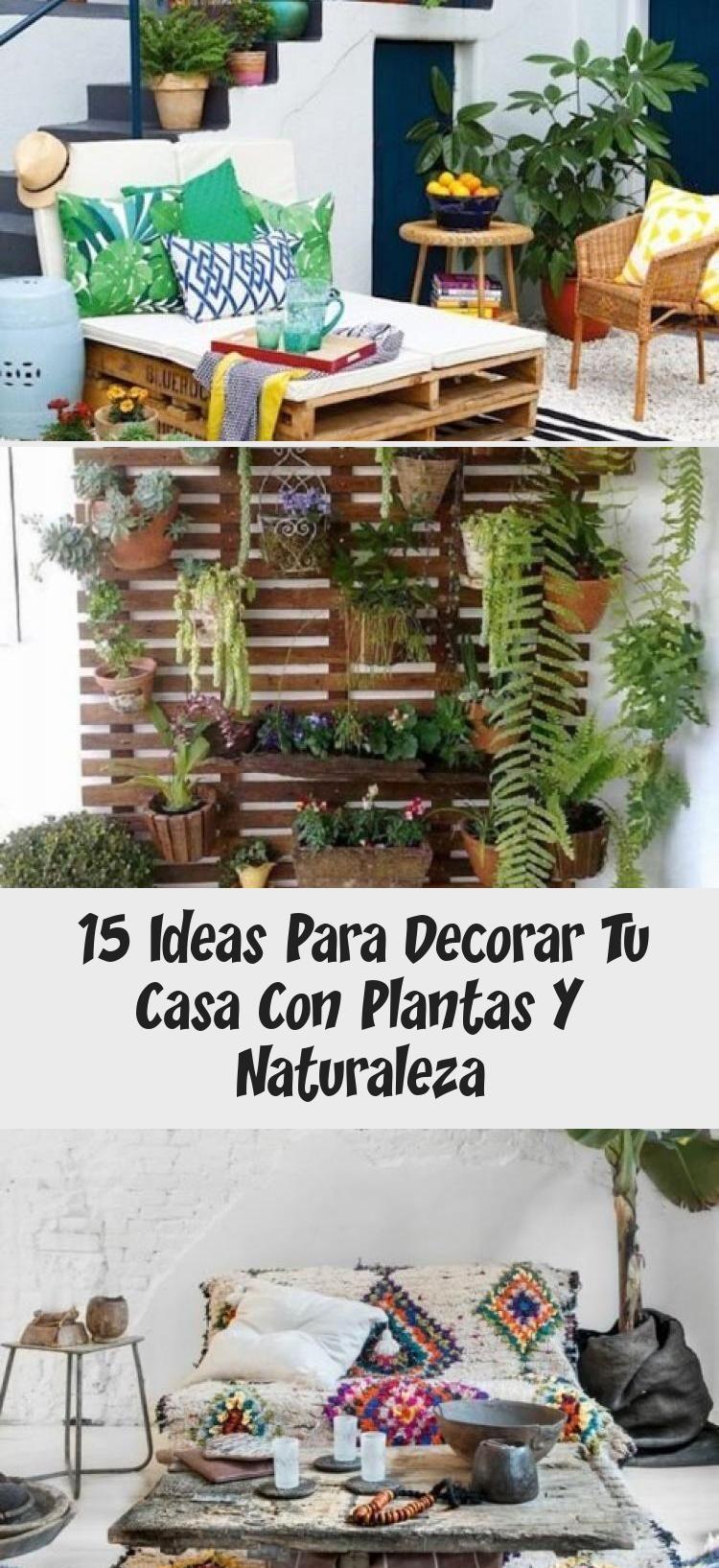 15 Ideas Para Decorar Tu Casa Con Plantas Y Naturaleza Home