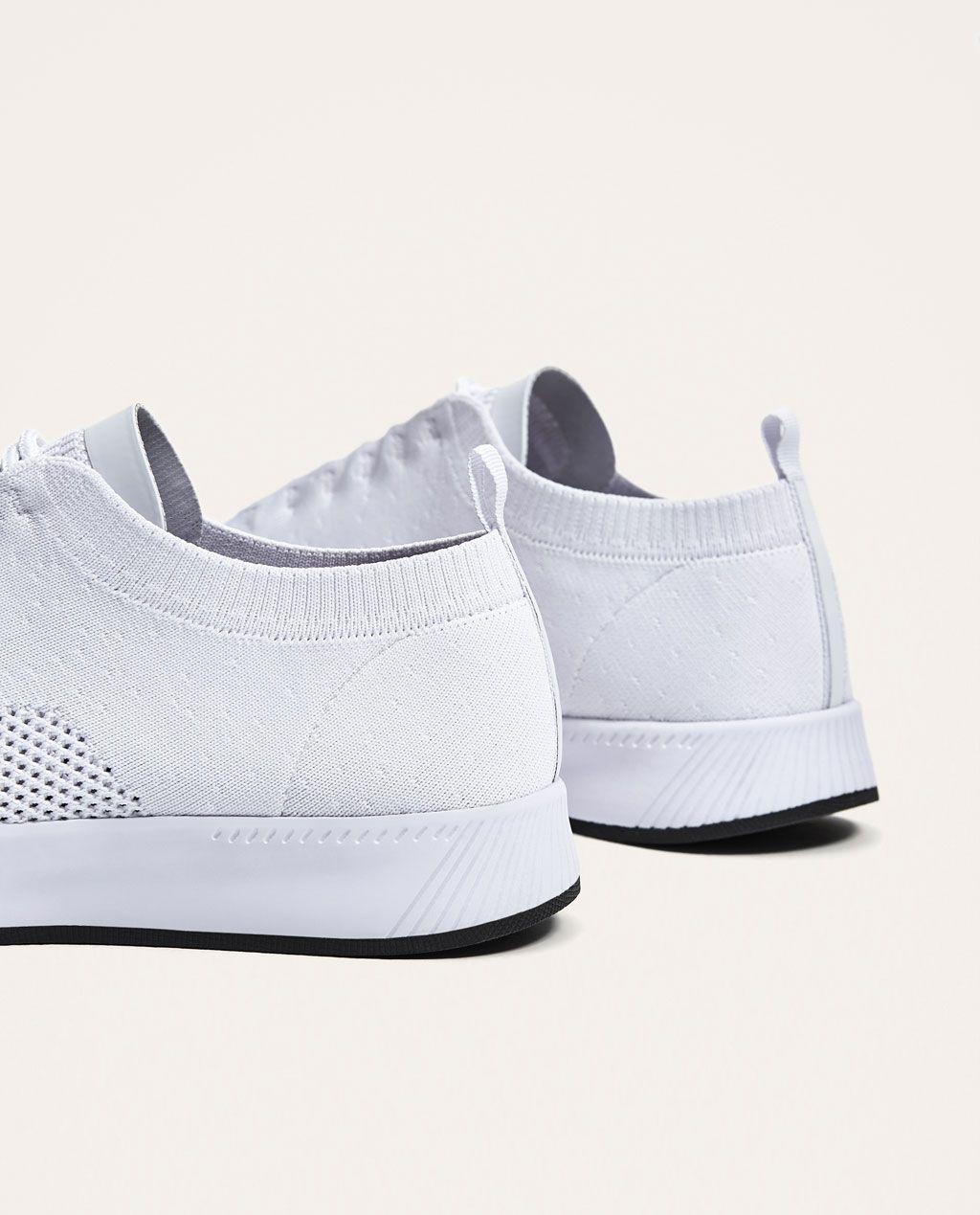 Ver Rebajas Deportivo Técnico Zara Zapatos Todo Hombre Tejido qwfOnExOBR