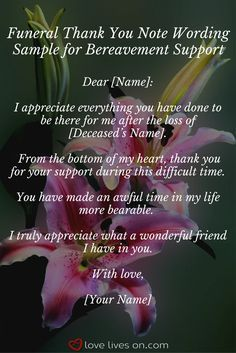 33 best funeral thank you cards sympathy pinterest funeral