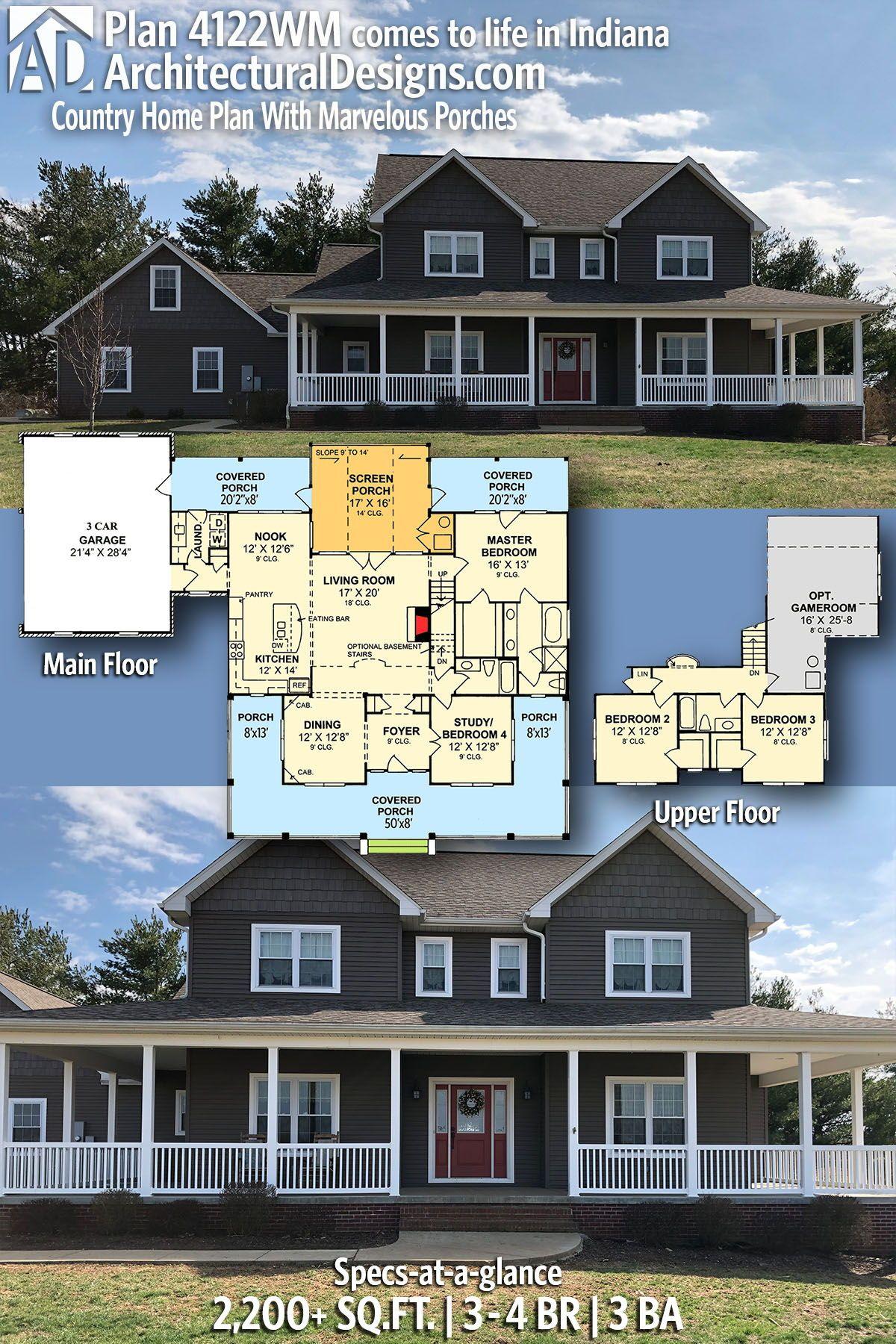 37+ 4122wm house plan type