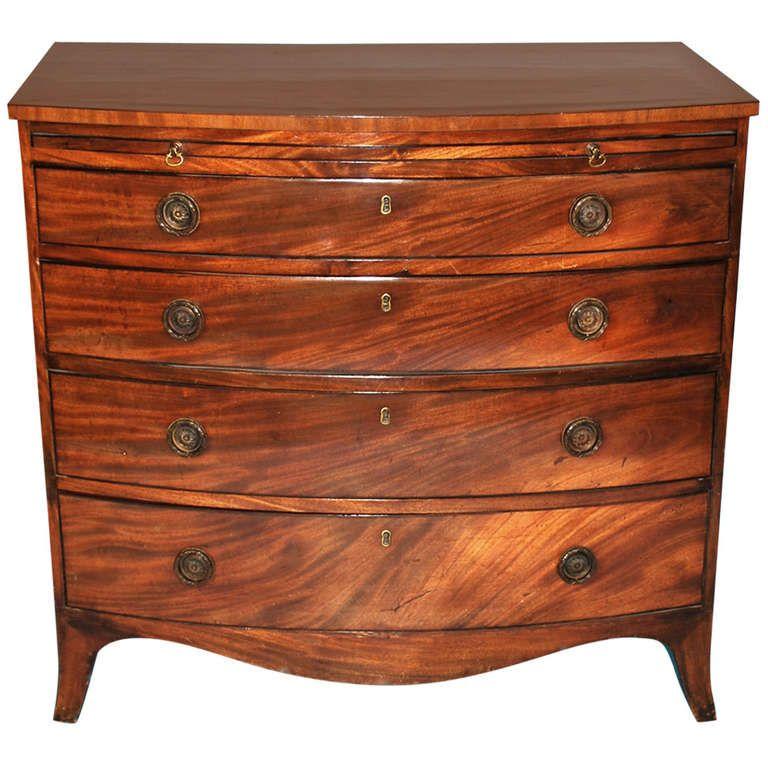 Dresser · Fine Hepplewhite Bow Front ...