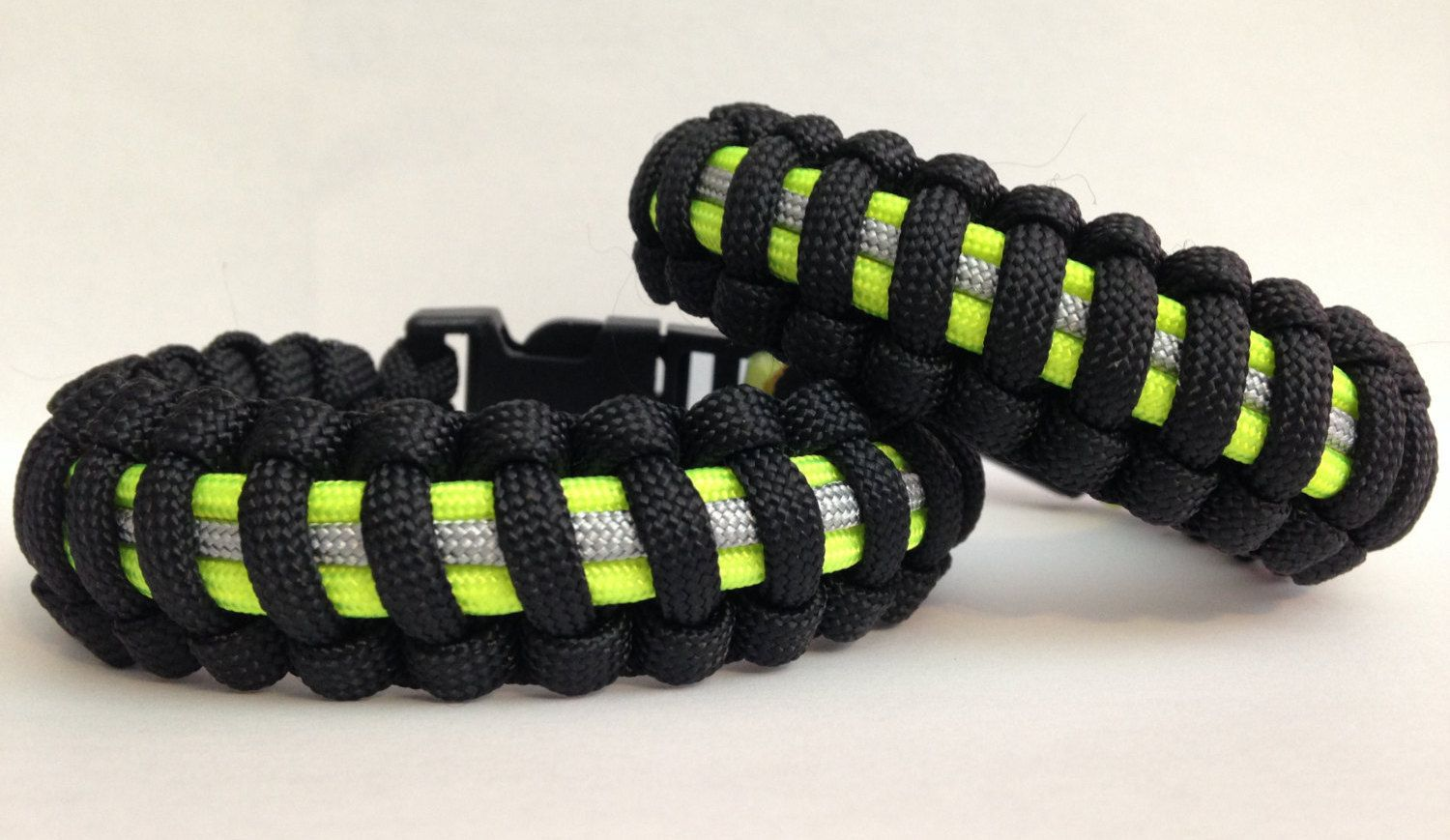 Custom Mini Firefighter Bunker Gear Paracord Bracelet With Images
