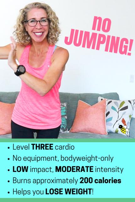Weight loss CARDIO no jumping! ?  Pahla B Fitness - Fitness Plans - Ideas of Fitness Plans #fitnessp...