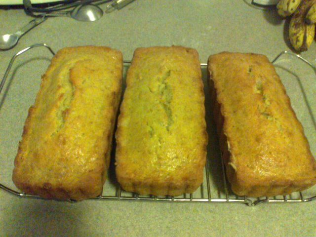 Made Banana Nut Bread for the first time!