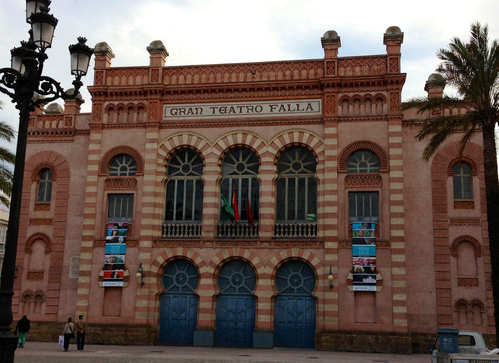 Gran Teatro Falla Cadiz Spain Cadiz Andalucía