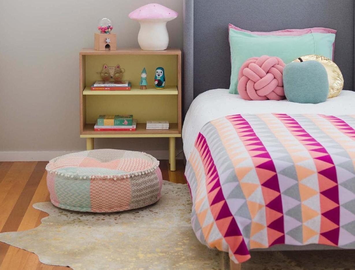 cute colors #kidsbedrooms #decor #quartos