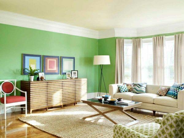 Wohnzimmerwand Grün ~ Die besten hellgrüne wände ideen auf grüne zimmer