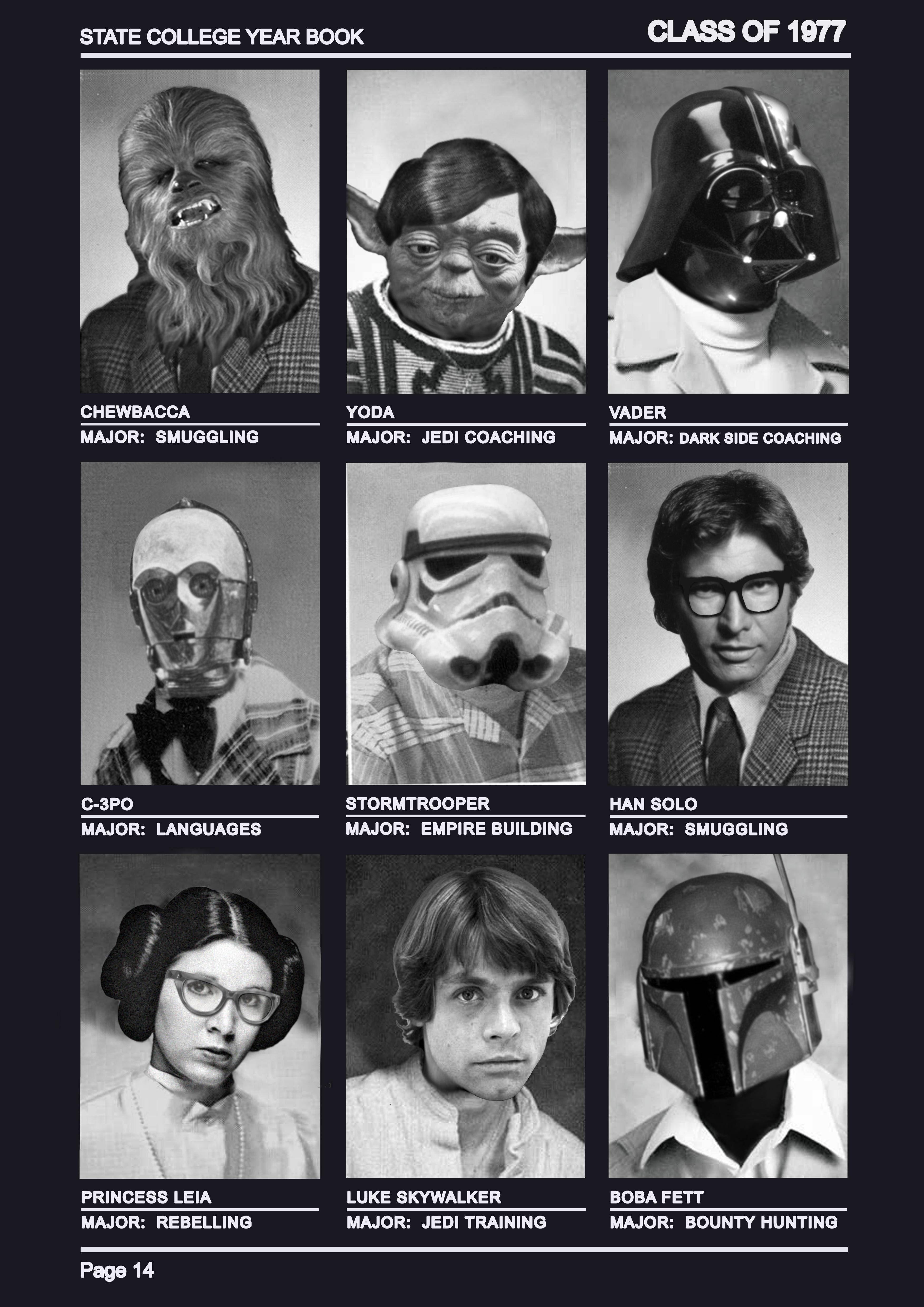 class of 1977 wars yoda looks like a professor who d host