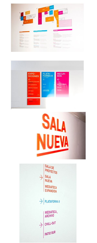 Proyecto de señalética para LABoral Centro de Arte y Creación Industrial #design #señaletica #Asturias http://www.jorgelorenzo.net/museos.php?idt=75