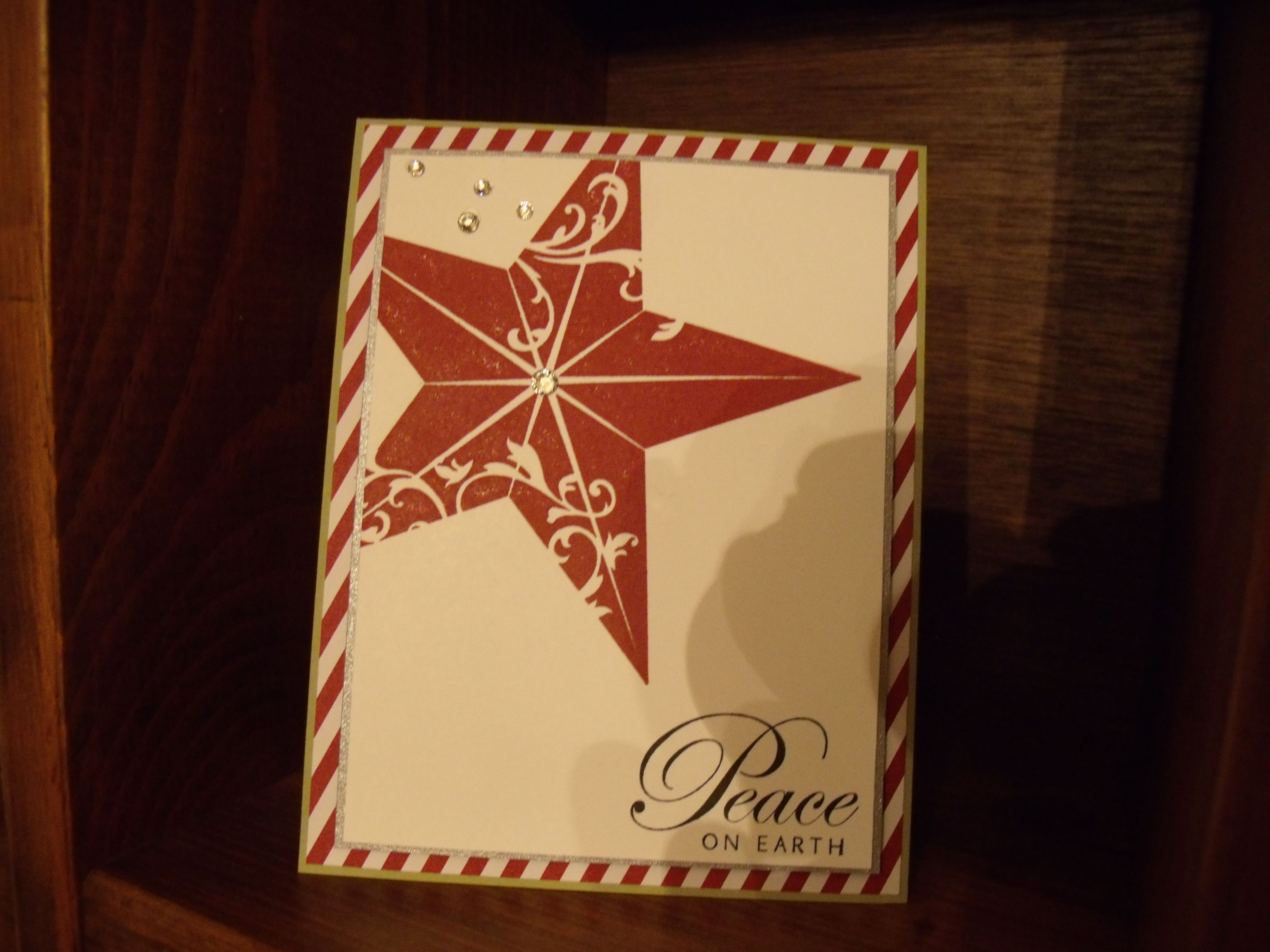 Stampin UP star,  I love this star!!