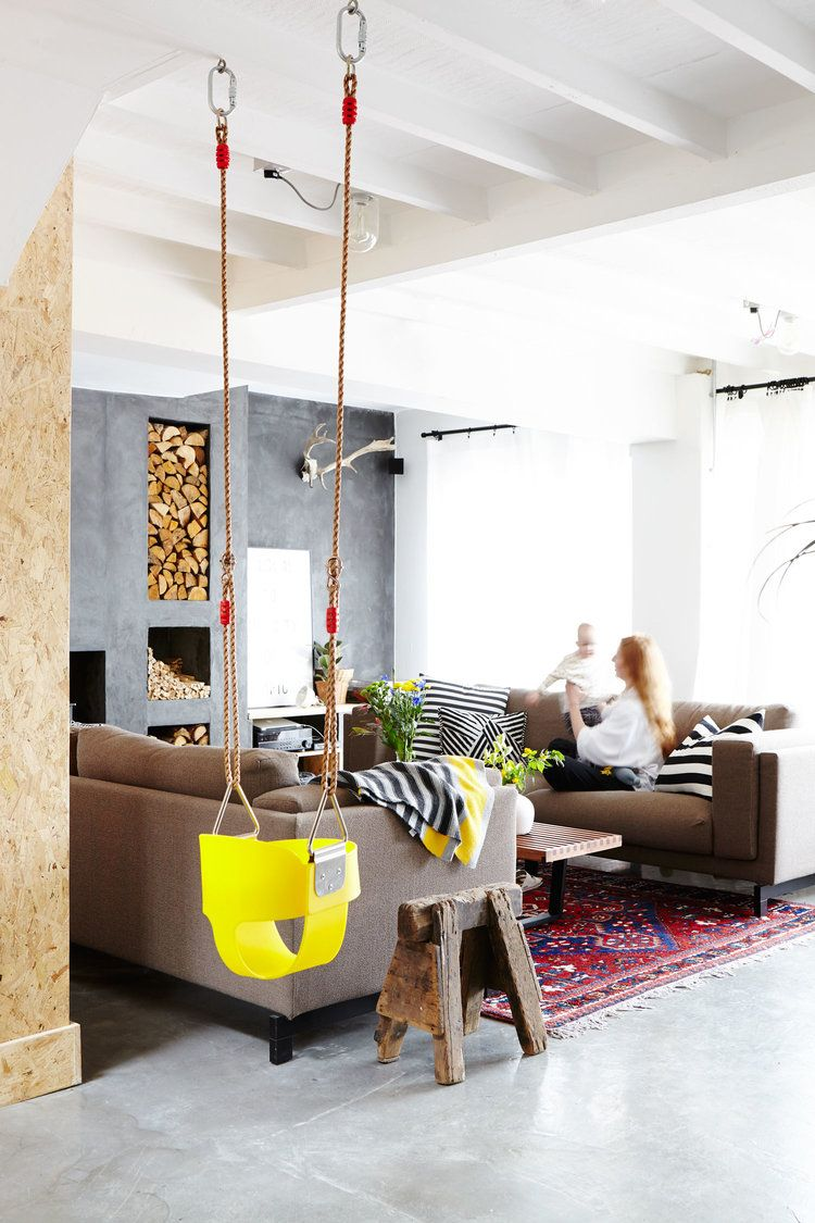 Indoor_swing_beach_house Jpg Osb Pinterest Beach And House # Muebles Ferreira Buga