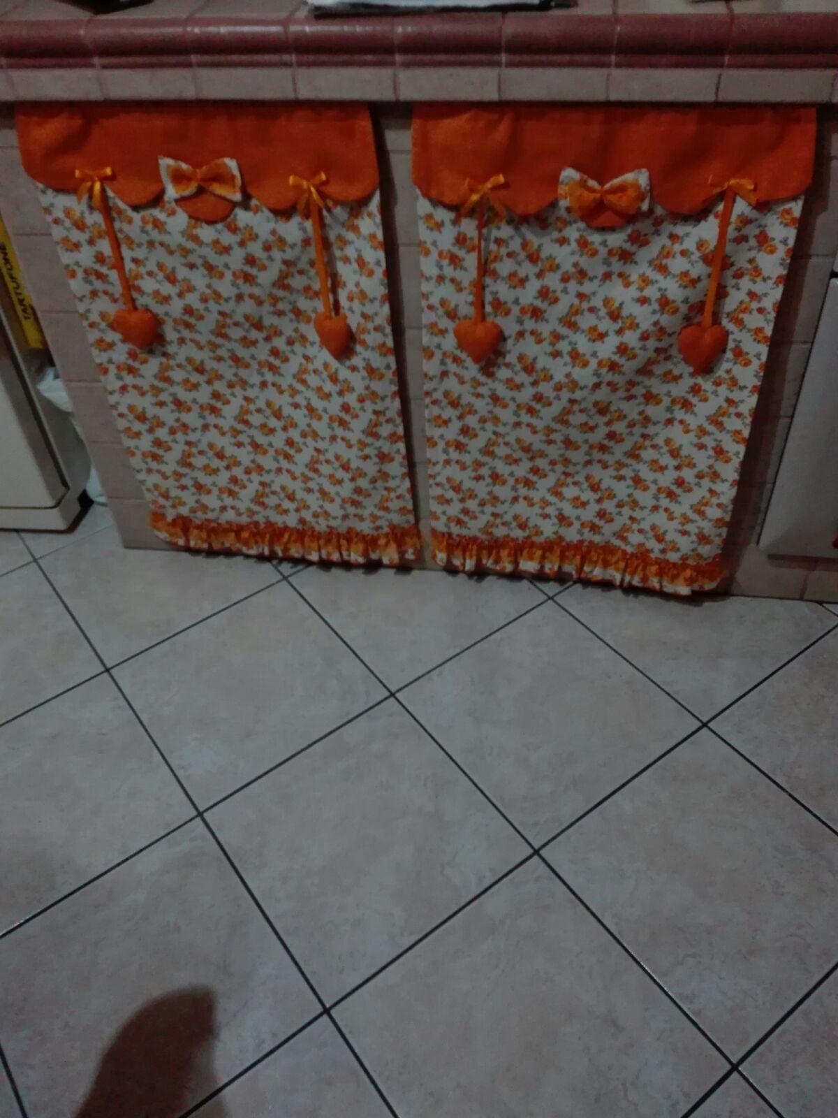 Tendine Per Cucina In Muratura. Top Tende Per Cucina Foto ...