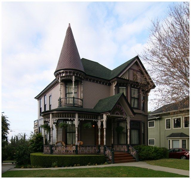 Beautiful Homes In Los Angeles: Real Estate Agent Charles C. Haskin's 1894 Queen Anne