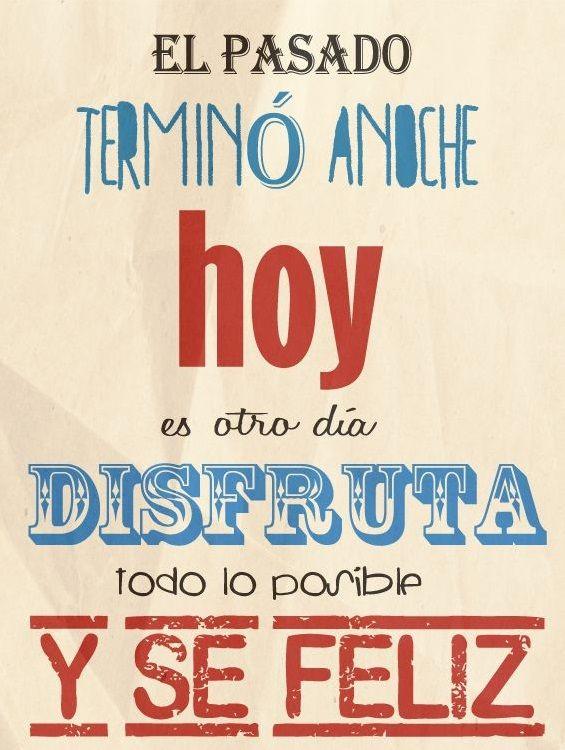 Frases en español · ¡Feliz inicio de semana!