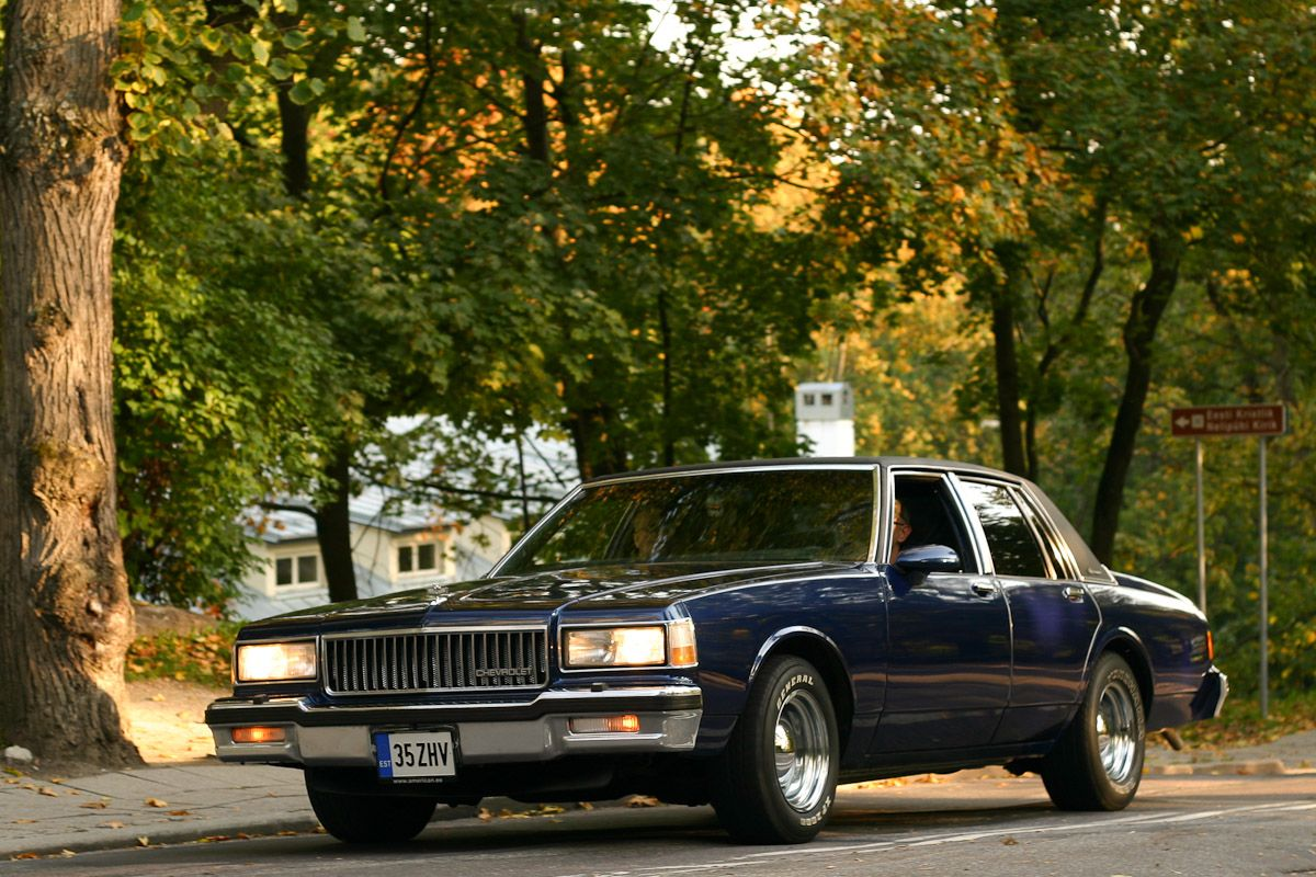 All Chevy 1987 chevrolet caprice classic brougham : Chevrolet Caprice Classic Brougham Sedan 4 Door de 1987. 170 CV ...