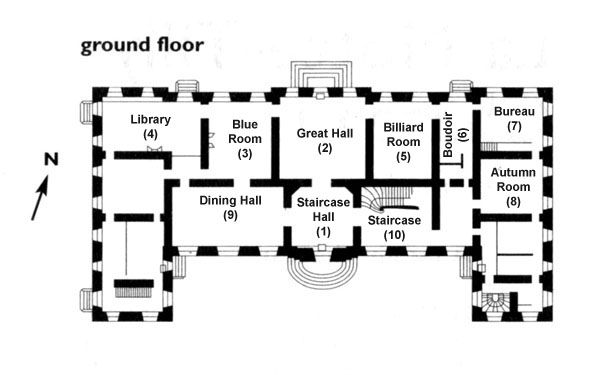 Physical Site Castle Floor Plan French Cottage Floor Plans