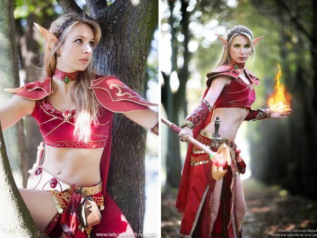 Sexy elves costumes