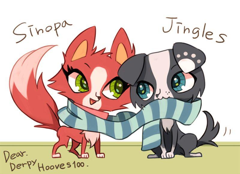 Jingles And Sinopa By Masssssan Shop Illustration Online Shop