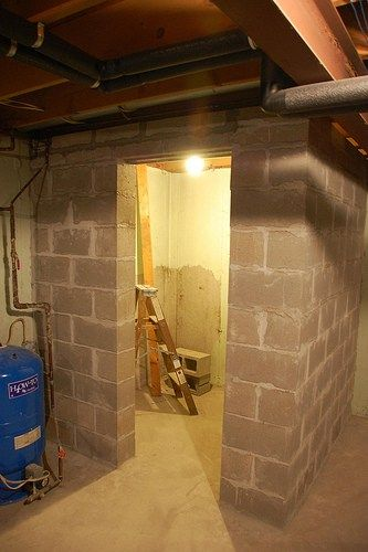 Yes we built a walk in gun safe basements pinterest for How to build a gun safe room