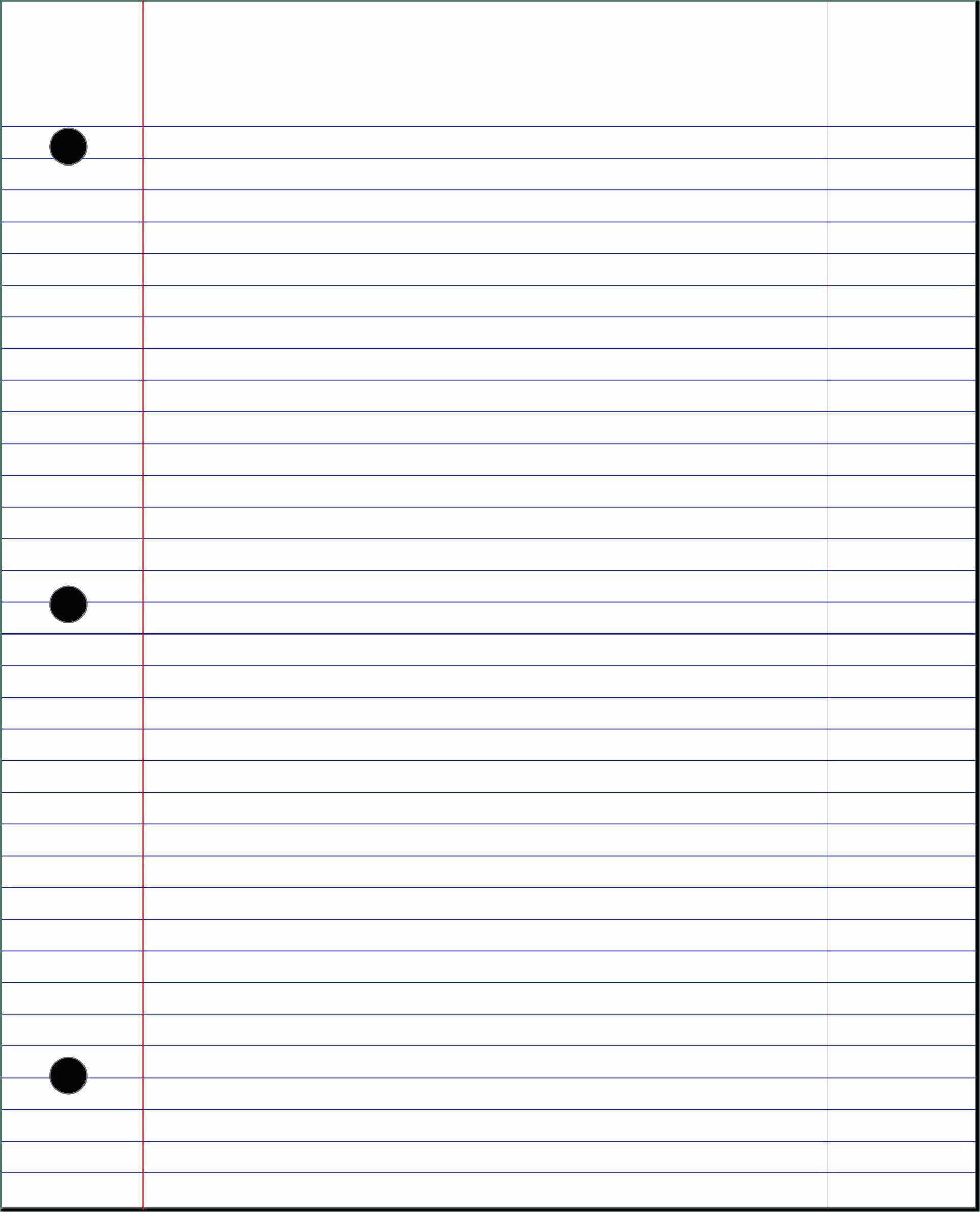 Powerpoint Notebook Paper Template Quirky Lined Paper Powerpoint