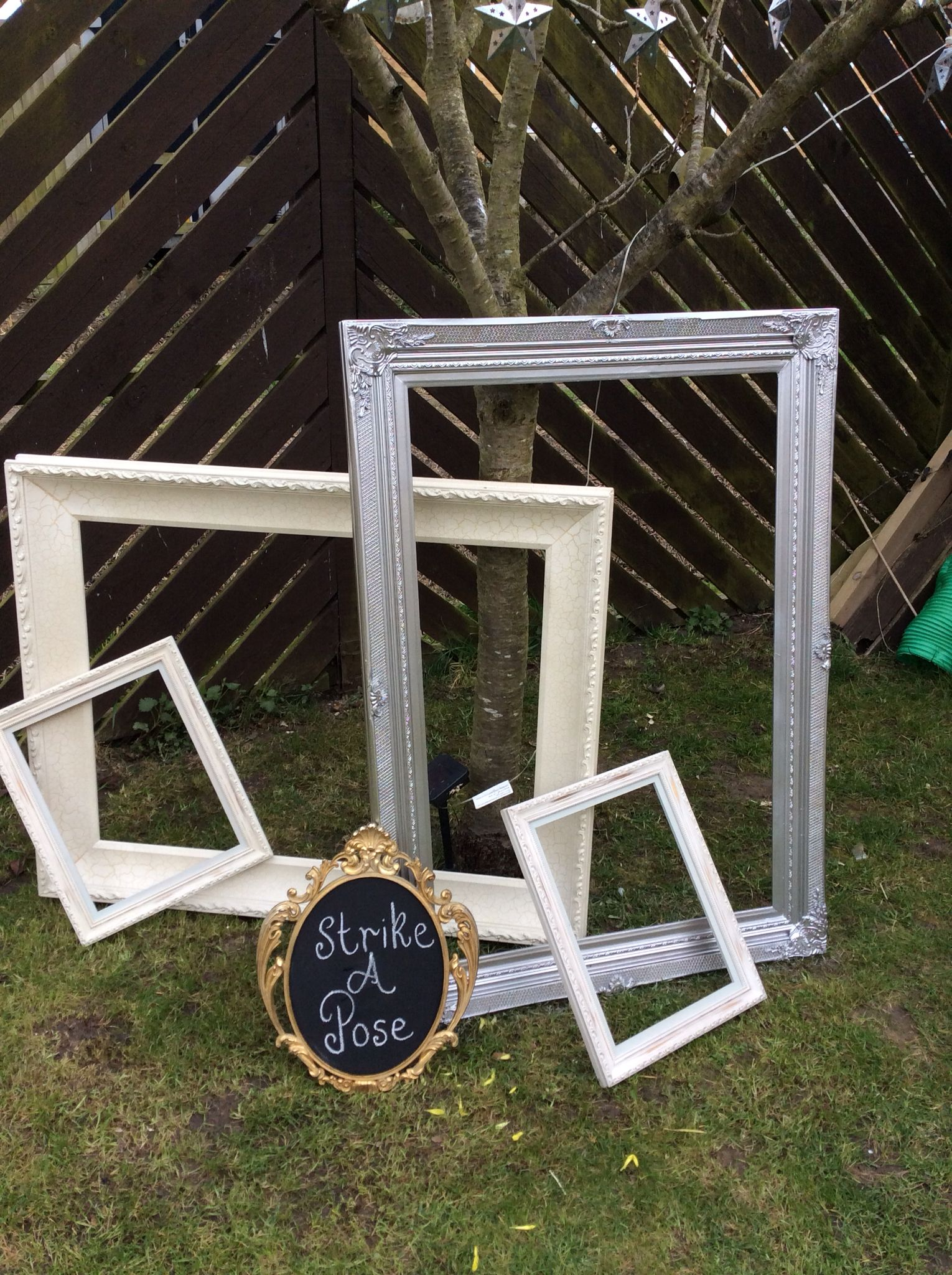 Large frame hire £10  https://www.facebook.com/pages/TLC-Candy-Cart-Hire/1567572446801237 Based in Cambridgeshire  Vintage wedding ideas decoration props inspiration unusual items