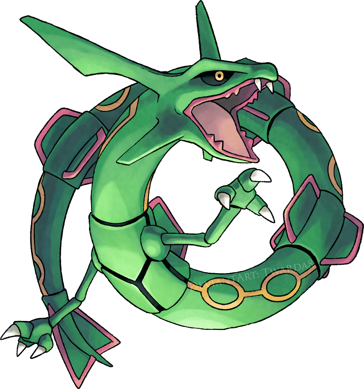 rayquaza by twarda8 on