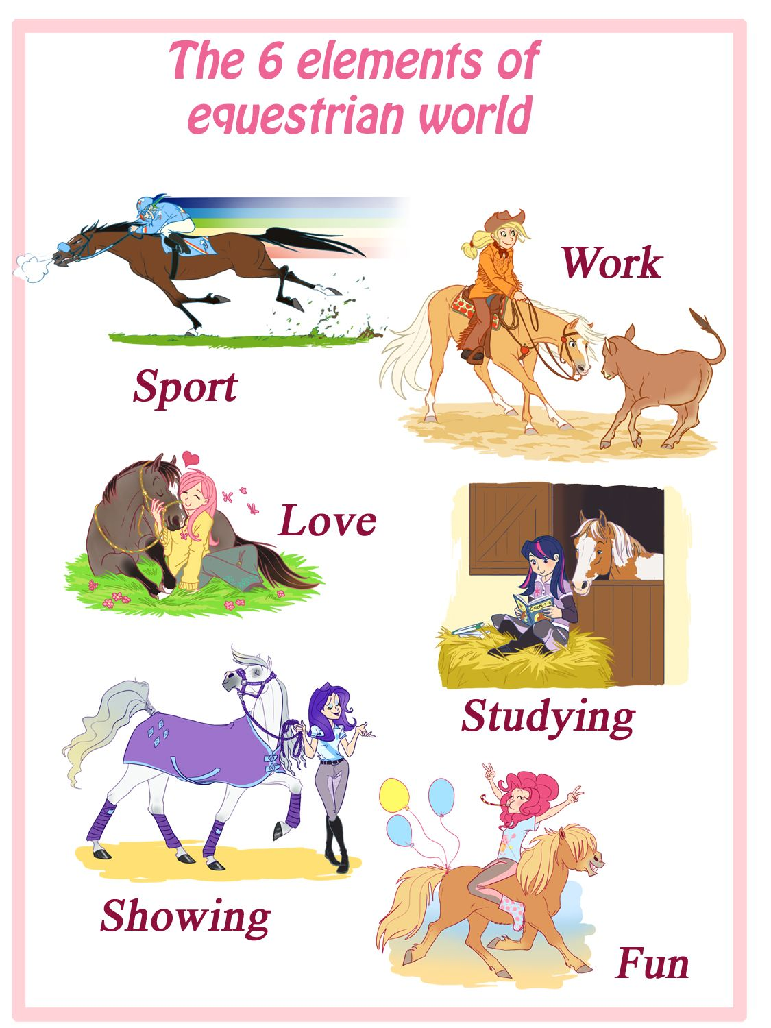 Equestrian elements by My little