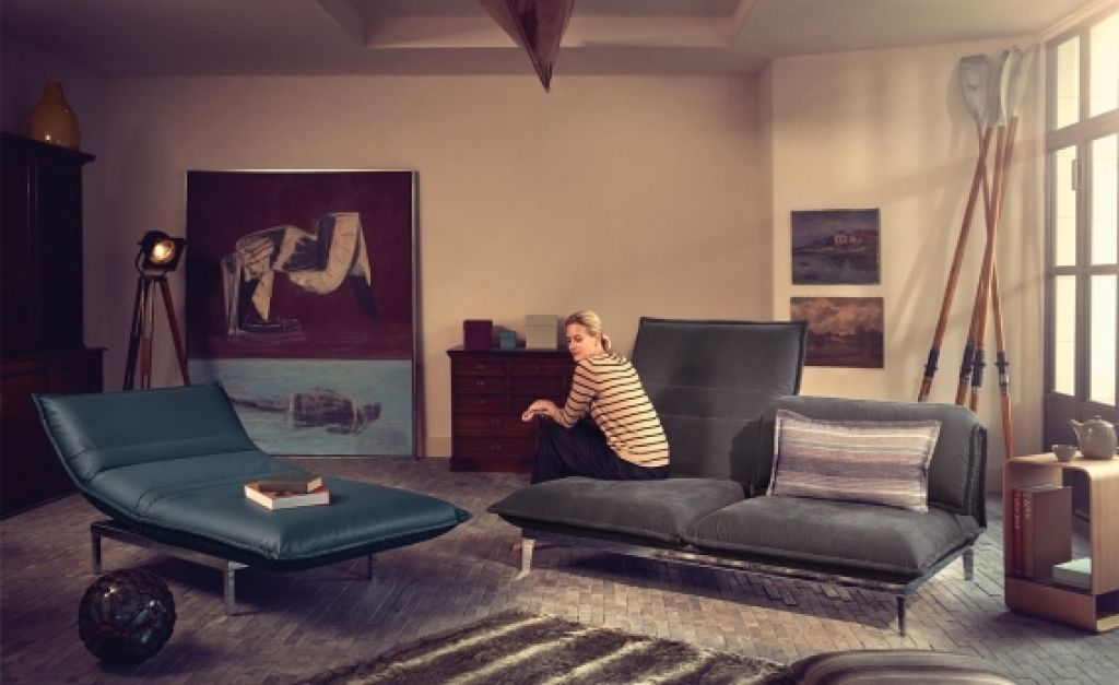 Wohnzimmer Modern Und Antik Polstermbel Fr Das