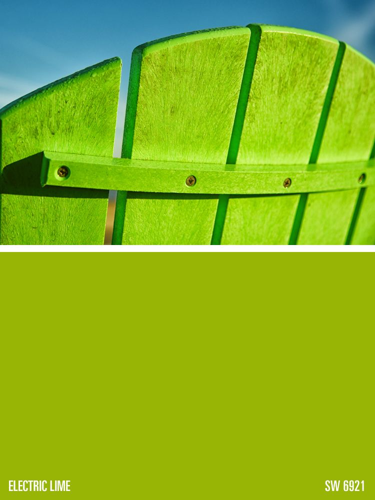 Sherwin Williams Green Paint Color Electric Lime Sw 6921