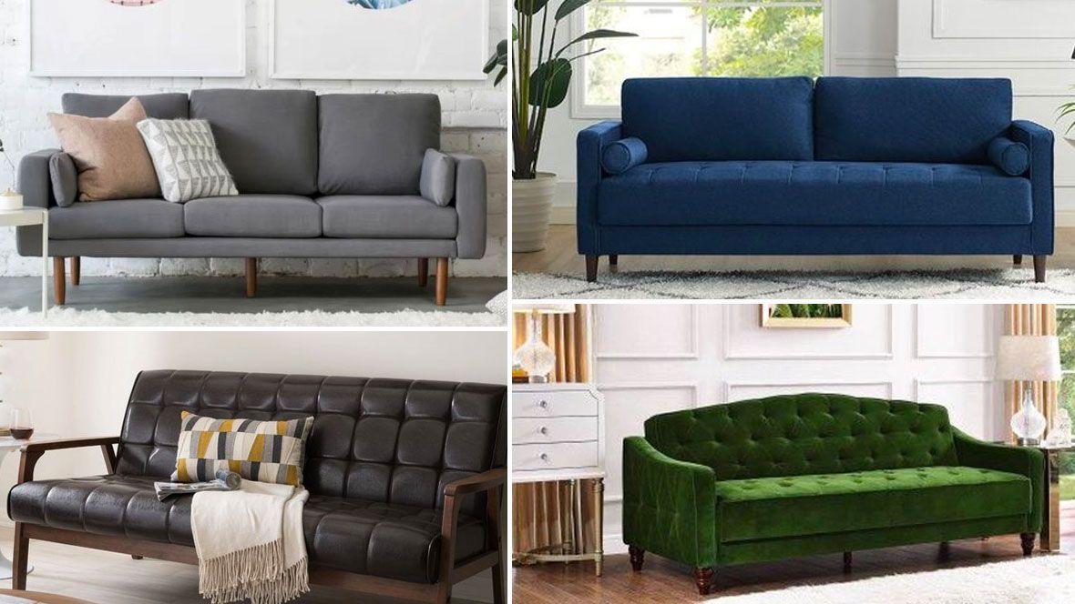 10 Stylish Sofas Under 500 Stylish Sofa Leather Sofa Emily Henderson Living Room