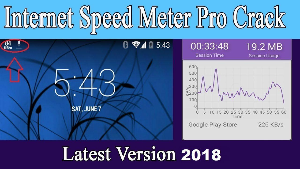 internet speed meter apk pro