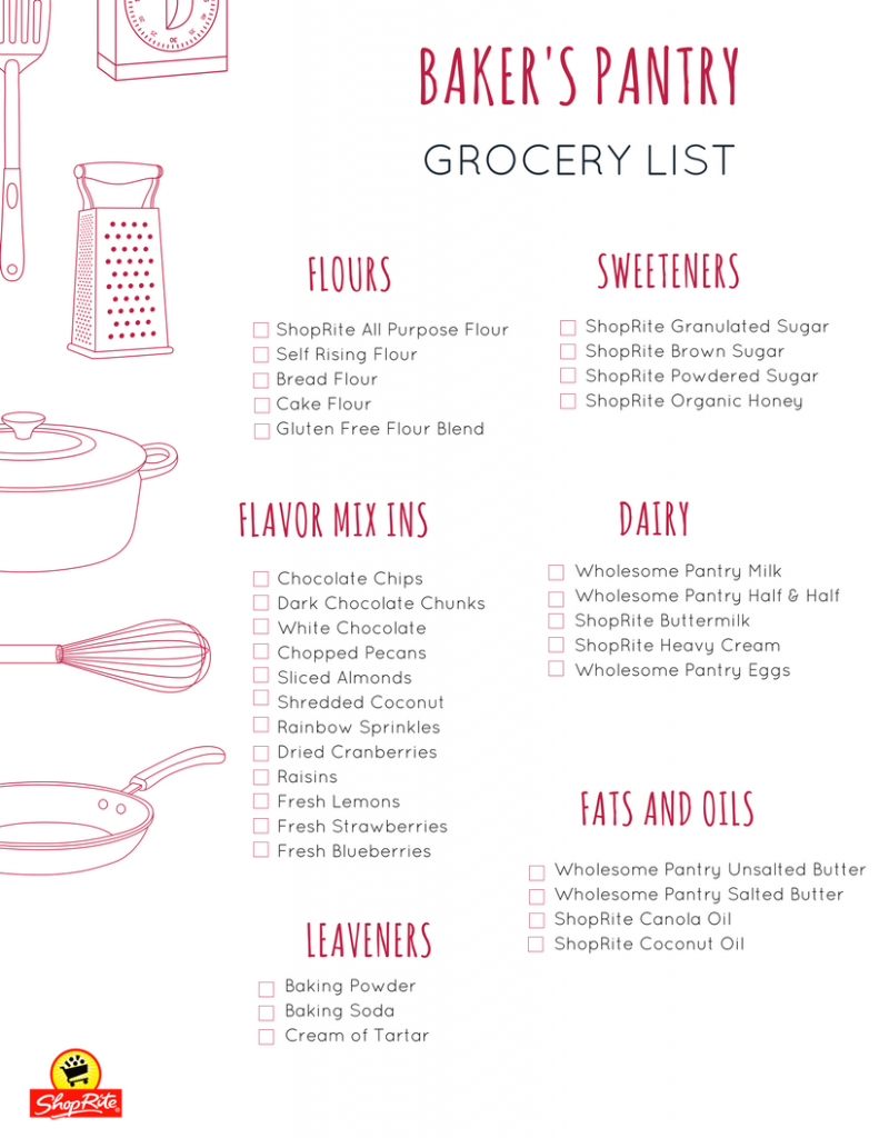 Fill Your Pantry With Baking Essentials With These Easy Baker S