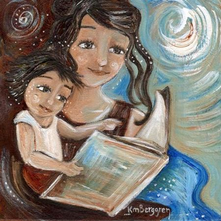 Mama's Milkies - 11 - art from the book print by Katie m. Berggren
