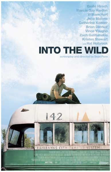 Into The Wild Emile Hirsch Sean Penn Movie Poster 11x17 Wild Movie Travel Movies Good Movies